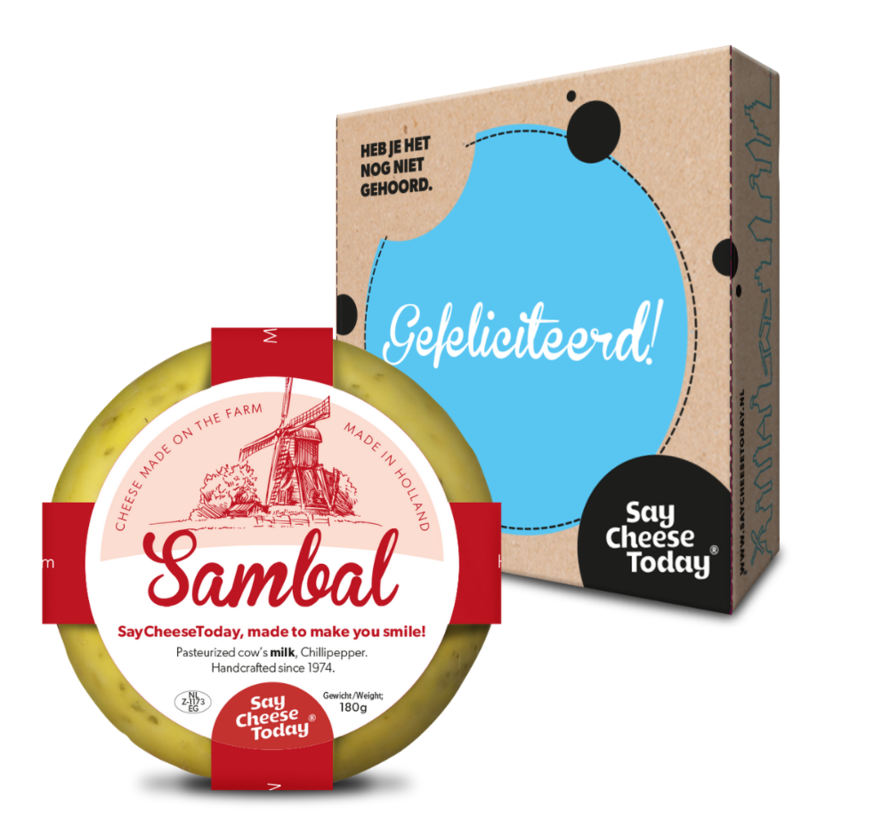 Say Cheese Sambal mini boerenkaas
